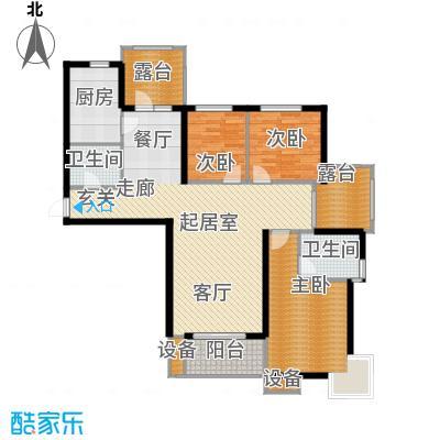 金屋·秦皇半岛138.23㎡金屋・秦皇半岛4/8/10#楼A户型