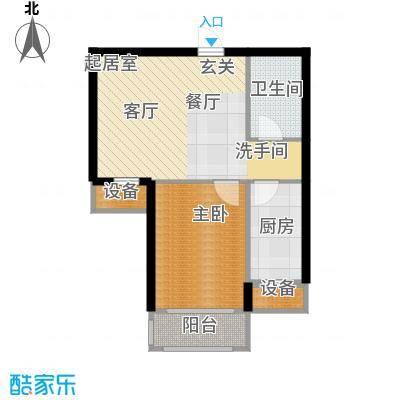 金屋·秦皇半岛65.10㎡金屋・秦皇半岛16#楼C(售罄)户型