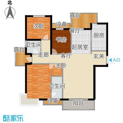 金屋·秦皇半岛168.99㎡金屋・秦皇半岛9#楼C户型