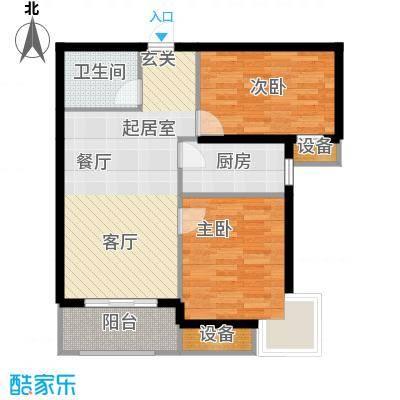 金屋·秦皇半岛86.15㎡金屋・秦皇半岛2#楼B户型