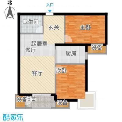 金屋·秦皇半岛95.05㎡金屋・秦皇半岛4/8/10#楼B户型
