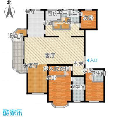 远洋海悦公馆264.00㎡10号楼C10户型