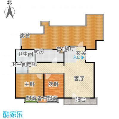 康城·瑞河兰乔106.01㎡康城・瑞河兰乔C4户型