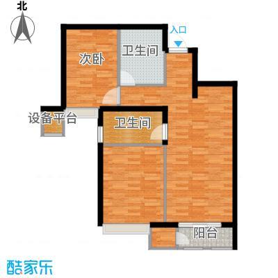 京投万科新里程88.00㎡二期G户型