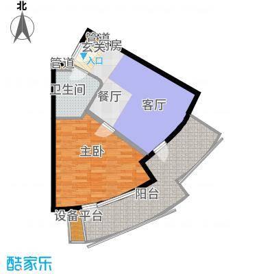 山海同湾16#楼A1-01户型