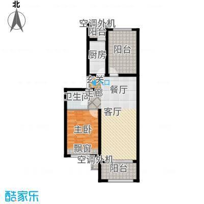 北京城建·红木林80.00㎡北京城建・红木林C4户型