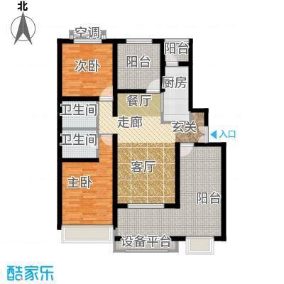北京城建·红木林108.00㎡北京城建・红木林C6户型