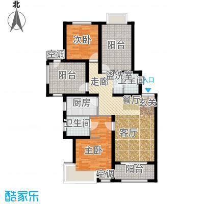 北京城建·红木林108.00㎡北京城建・红木林C3户型