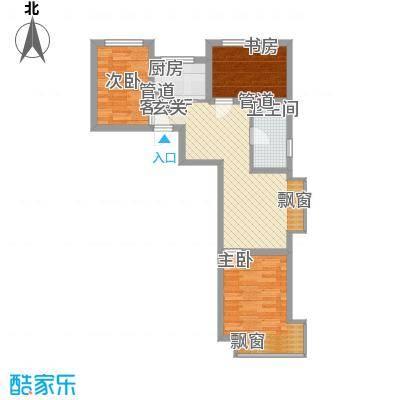 东亚印象台湖77.64㎡二期住宅A反户型