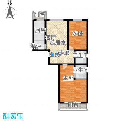 北京悦91.00㎡5号楼A2户型