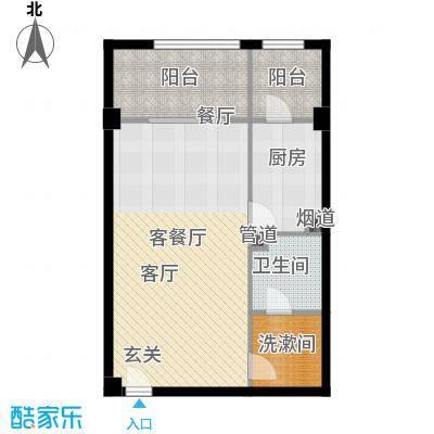 北京悦76.16㎡1号楼A5户型