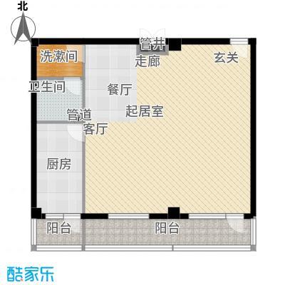 北京悦105.49㎡1号楼A6户型
