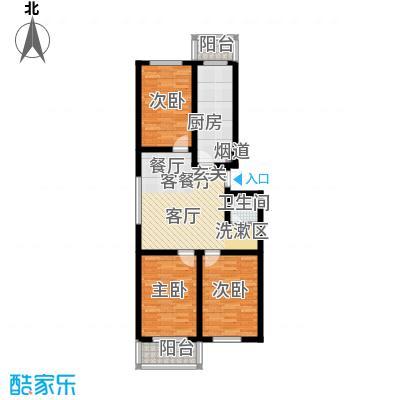 北京悦93.00㎡5号楼A1户型