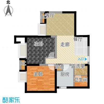 京贸国际城10号楼D户型