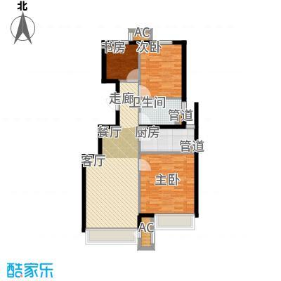 北京城建·上河湾93.00㎡北京城建・上河湾J3户型