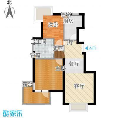北京城建·珑瓖筑85.00㎡北京城建・珑�筑A3户型