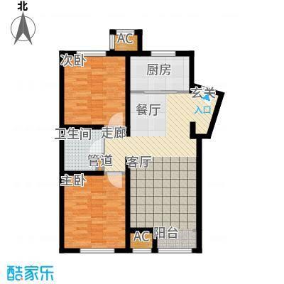 润西山·B组团95.00㎡润西山・B组团D1(售完)户型