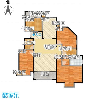 正源·尚峰尚水源墅154.45㎡正源・尚峰尚水源墅三期J户型