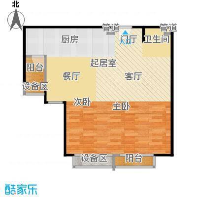 正源·尚峰尚水源墅80.00㎡正源・尚峰尚水源墅一期F户型