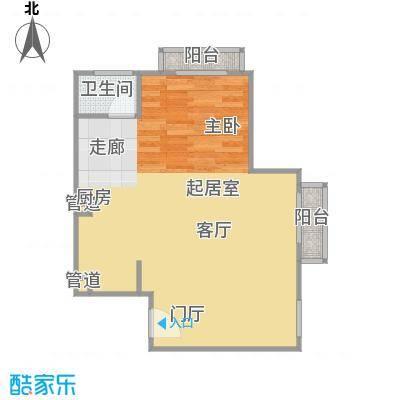 正源·尚峰尚水源墅58.00㎡正源・尚峰尚水源墅一期E户型