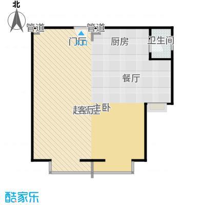 正源·尚峰尚水源墅77.00㎡正源・尚峰尚水源墅一期F1户型
