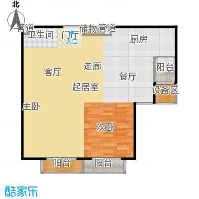 正源·尚峰尚水源墅79.00㎡正源・尚峰尚水源墅一期F2户型