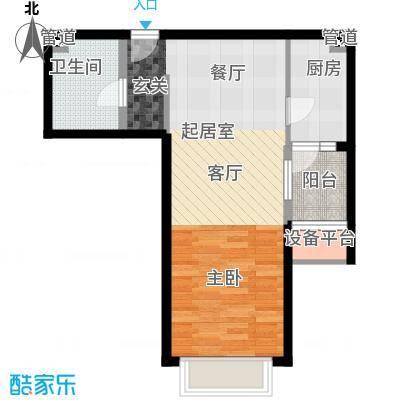 润泽公馆2#楼A-1户型