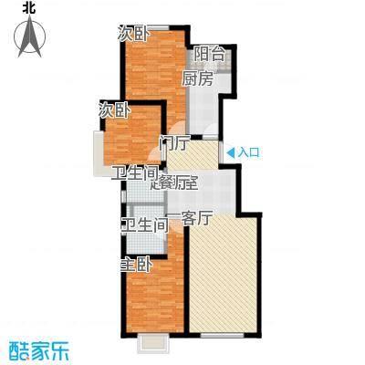 中加·博悦112.00㎡中加・博悦C3户型