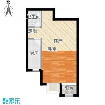 中加·博悦59.00㎡中加・博悦A1户型
