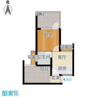 龙潭·温泉印象59.00㎡龙潭・温泉印象小区户型