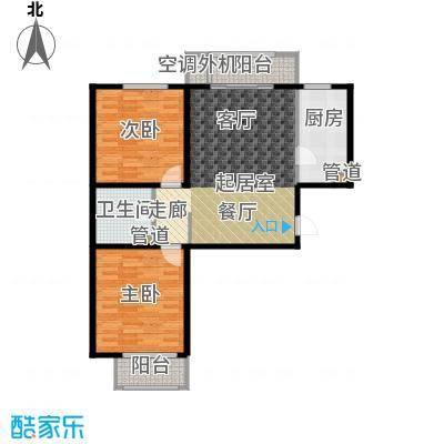 溪语蓝湾90.51㎡一期1#/3#A5#楼A/D户型