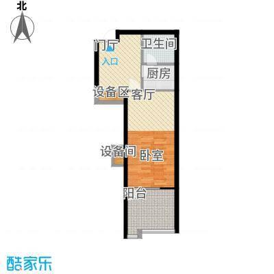 龙潭·温泉印象49.00㎡龙潭・温泉印象小区户型