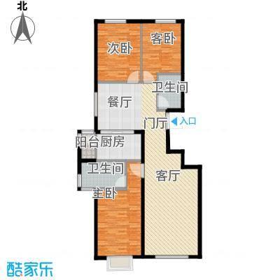 中加·博悦125.00㎡中加・博悦C4户型