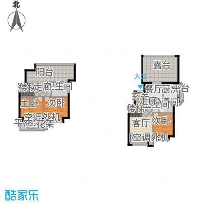 北京城建·海梓府101.00㎡北京城建・海梓府13、14、15、16号楼上跃C户型