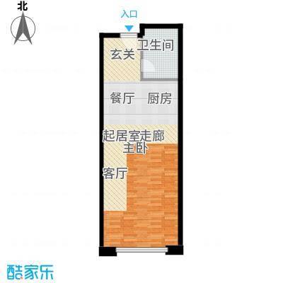 旭辉丽舍59.00㎡一期S1号楼312户型