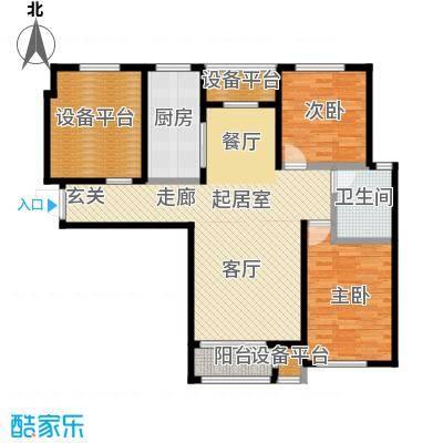 香邑溪谷99.00㎡二期A2户型