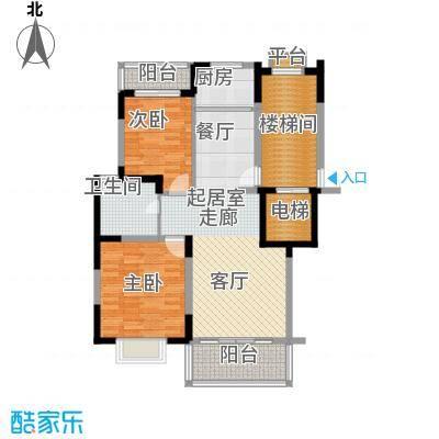 万泉河温泉小镇89.20㎡A户型