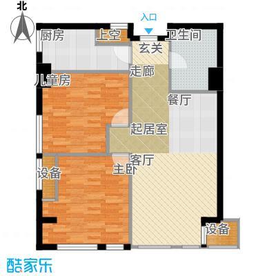 嘉厚炫城国际121.19㎡C户型