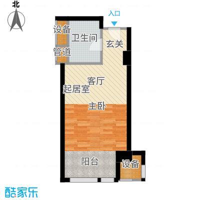 嘉厚炫城国际54.00㎡A户型