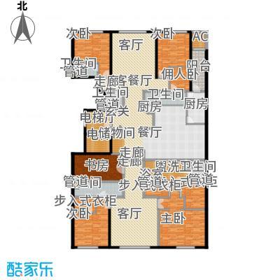 中海枫丹公馆446.00㎡FD-A户型