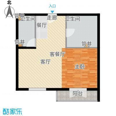 汤INN酒店式公寓82.00㎡一期公寓G户型