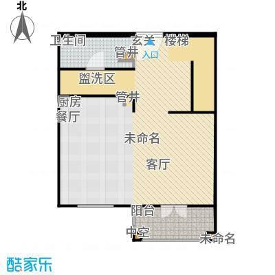 汤INN酒店式公寓84.00㎡一期公寓E户型