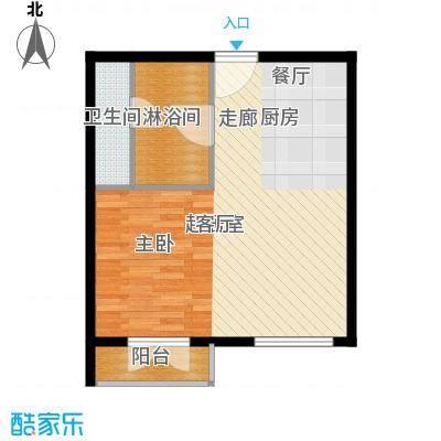 汤INN酒店式公寓54.00㎡一期公寓H2户型