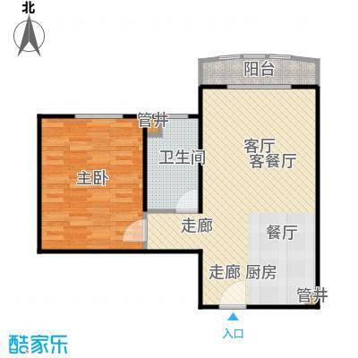 汤INN酒店式公寓62.00㎡N户型