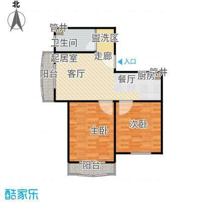 汤INN酒店式公寓71.46㎡C2户型