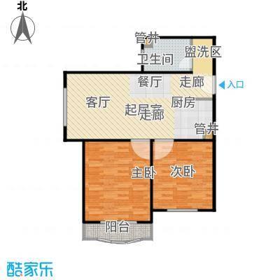 汤INN酒店式公寓75.83㎡C1户型