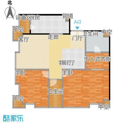国瑞紫金阁100.00㎡A区3号公寓B1户型