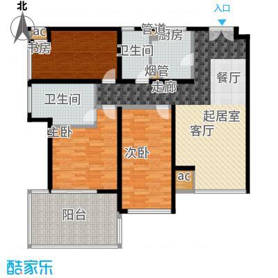 K2清水湾113.00㎡2-5#GX-2户型