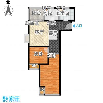 K2清水湾88.00㎡1#G1-1(售罄)户型