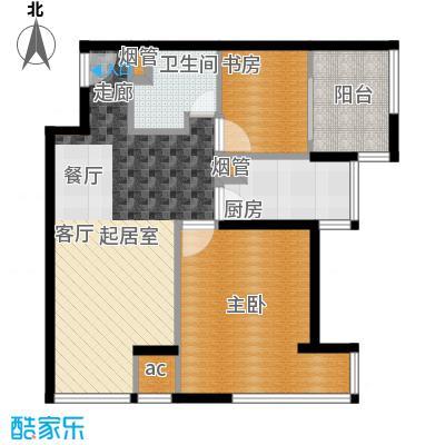 K2清水湾67.00㎡1#G1-6(偶)(售罄)户型